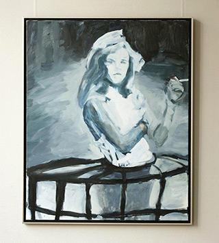Katarzyna Swinarska : Virgin 1 : Oil on Canvas