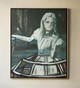 Katarzyna Swinarska : Virgin 2 : Oil on Canvas