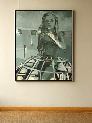 Katarzyna Swinarska : Virgin 3 : Oil on Canvas
