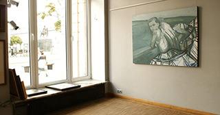 Katarzyna Swinarska : Virgins on the bridge : Oil on Canvas