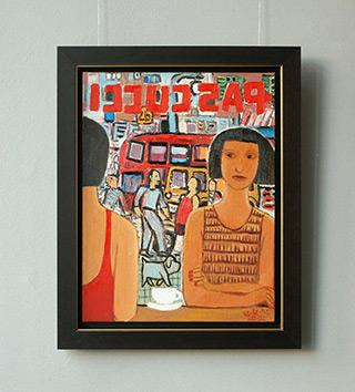 Krzysztof Kokoryn : Pascucci : Oil on Canvas