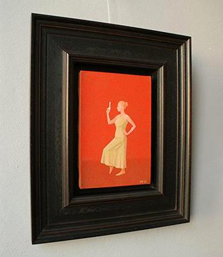 Mikołaj Kasprzyk : Armed girl : Oil on Canvas