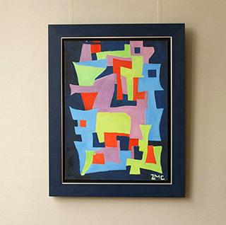 Zofia Matuszczyk-Cygańska : Anvil : Oil on Canvas