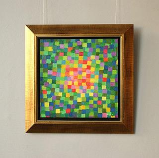 Zofia Matuszczyk-Cygańska : Green : Oil on Canvas