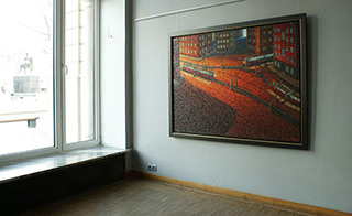 Adam Patrzyk : Junction : Oil on Canvas