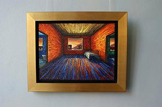 Adam Patrzyk : Room to sleep : Oil on Canvas