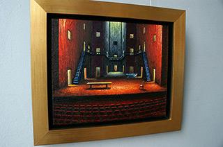 Adam Patrzyk : Stage : Oil on Canvas