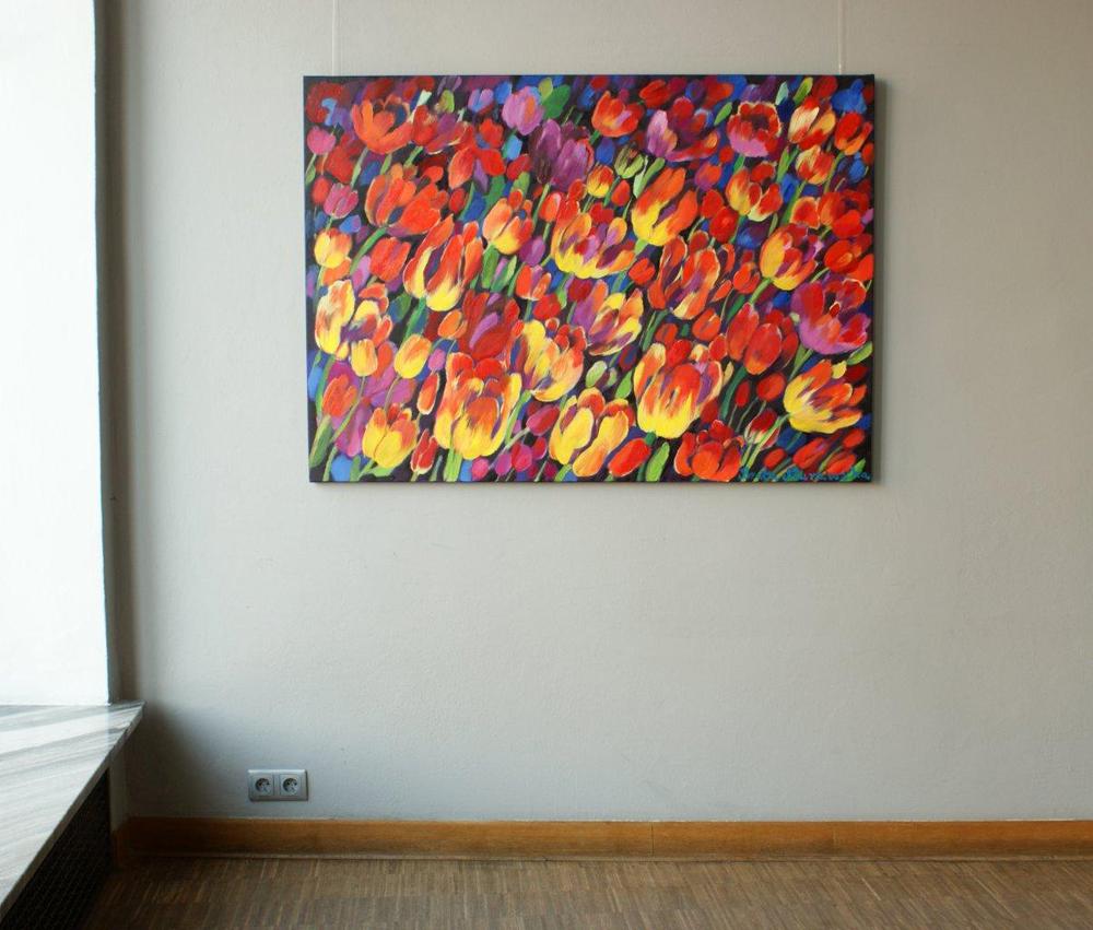 Beata Murawska : Dark tulips
