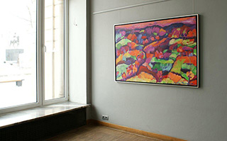 Beata Murawska : Landscape : Oil on Canvas