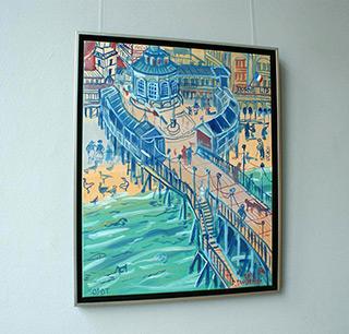 Edward Dwurnik : Sopot : Oil on Canvas