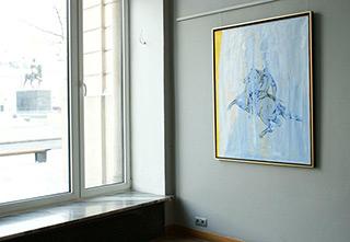 Jacek Łydżba : Rider : Oil on Canvas