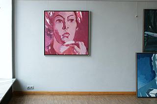 Katarzyna Swinarska : Think about it back at breakfast : Oil on Canvas