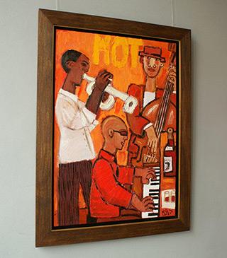 Krzysztof Kokoryn : Hot : Oil on Canvas