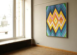 Małgorzata Jastrzębska : Painting no 349 : Oil on Canvas
