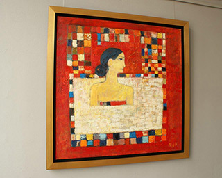 Darek Pala : Woman in the pool 2010 : Oil on Canvas