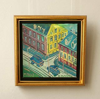 Edward Dwurnik : Marki : Oil on Canvas