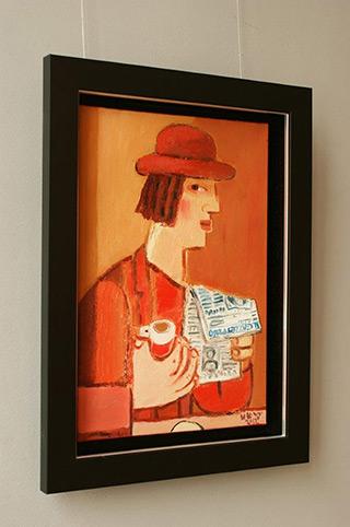 Krzysztof Kokoryn : Il Gazzetino : Oil on Canvas