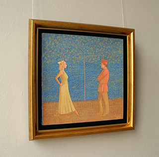 Mikołaj Kasprzyk : Couple : Oil on Canvas
