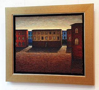 Adam Patrzyk : Houses : Oil on Canvas