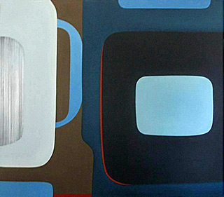 Anna Podlewska : Mad painting : Oil on Canvas