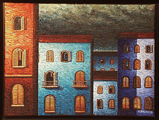 Adam Patrzyk : Windows : Oil on Canvas