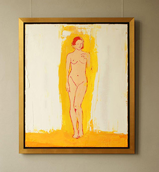 Jacek Łydżba : Nude : Oil on Canvas