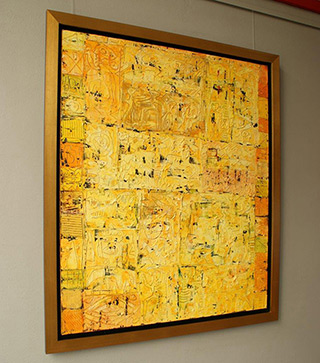 Krzysztof Pająk : Alhambra II : Oil on Canvas