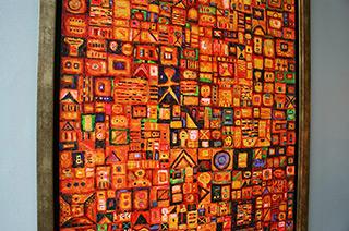 Krzysztof Pająk : Integrated circuits : Oil on Canvas