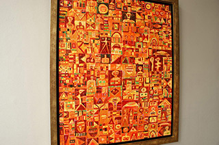 Krzysztof Pająk : Salamanka Detail : Oil on Canvas