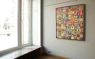 Krzysztof Pająk : Signs : Oil on Canvas