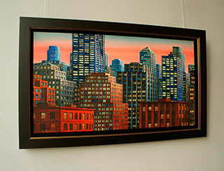 Adam Patrzyk : City : Oil on Canvas