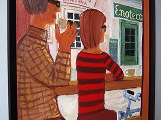 Krzysztof Kokoryn : Enoteca Detail : Oil on Canvas