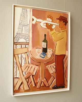 Krzysztof Kokoryn : Paris, mon amour : Oil on Canvas