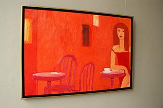 Krzysztof Kokoryn : Waiting : Oil on Canvas