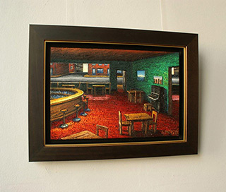 Adam Patrzyk : Bar : Oil on Canvas