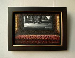 Adam Patrzyk : Cinema : Oil on Canvas
