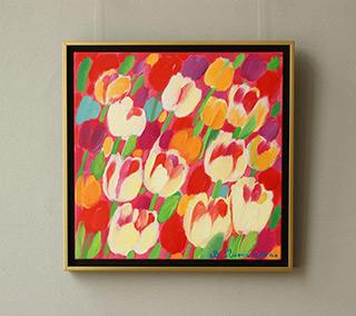 Beata Murawska : Sparkle : Oil on Canvas