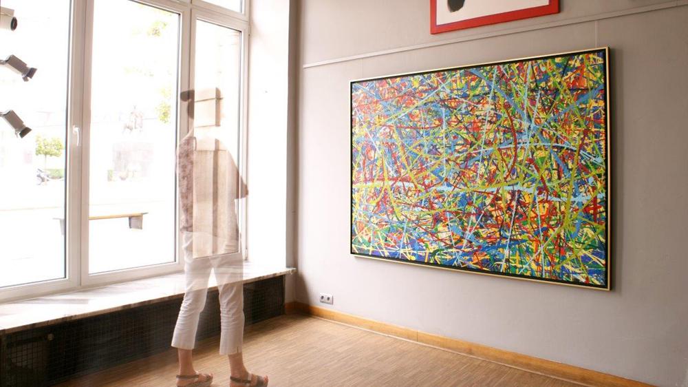 Edward Dwurnik : Painting No. 286