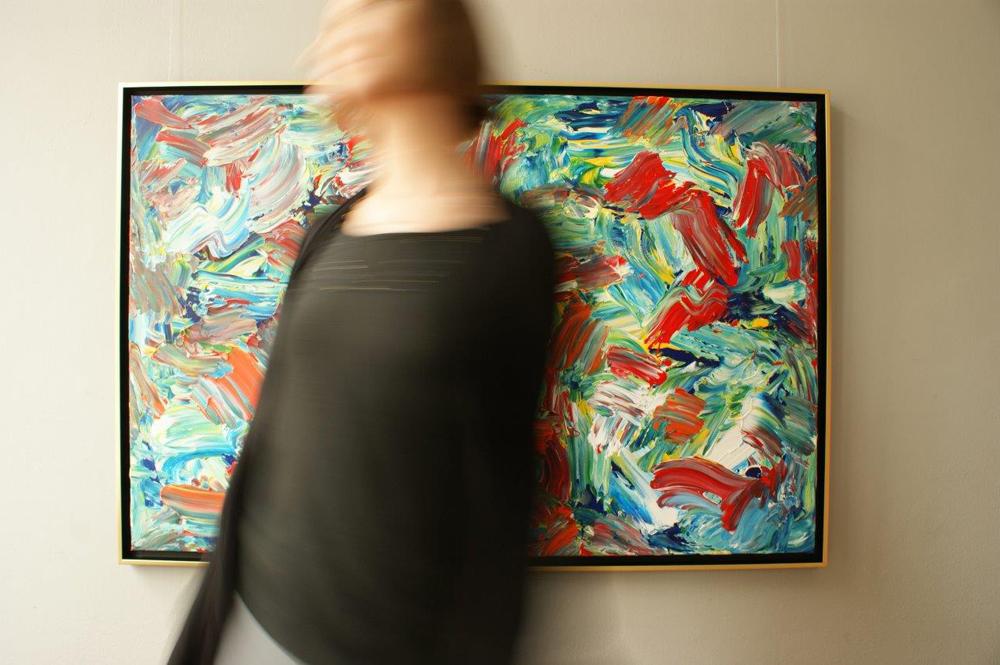 Edward Dwurnik : Painting No. 290