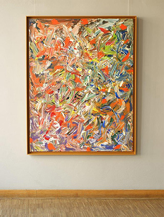 Edward Dwurnik : Painting No. 291 : Oil on Canvas