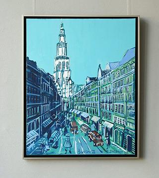 Edward Dwurnik : Swidnica : Oil on Canvas