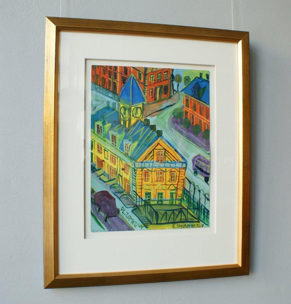 Edward Dwurnik : Yellow building