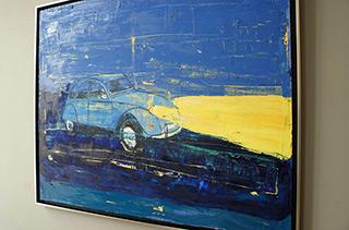 Jacek Łydżba : Citroen : Oil on Canvas