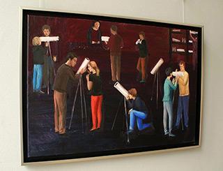 Katarzyna Karpowicz : Teleskopes sale : Oil on Canvas