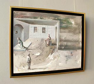 Łukasz Huculak : Have to wait : Oil on Canvas