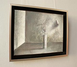 Łukasz Huculak : On a pedestal : Oil on Canvas