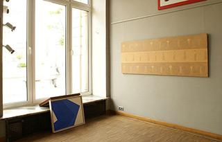 Mikołaj Kasprzyk : Alphabet : Oil on Canvas