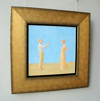 Mikołaj Kasprzyk : Capturing an image : Oil on Canvas
