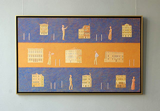 Mikołaj Kasprzyk : Venedig : Oil on Canvas