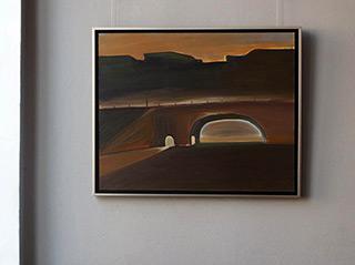 Piotr Bukowski : Bridge : Oil on Canvas